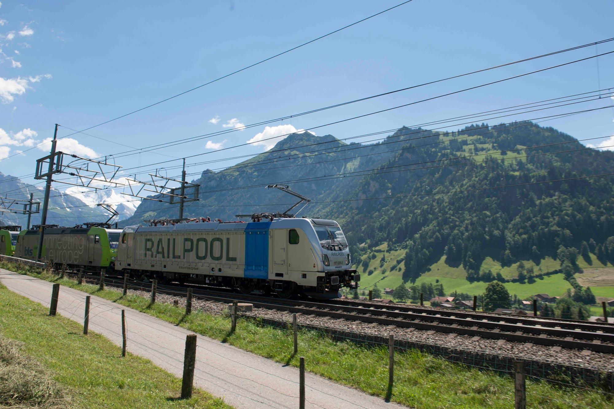 RAILPOOL 187 TRAXX Bombardier